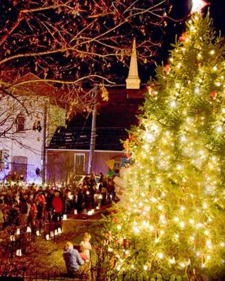 tree lighting 1